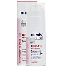 ნუმის მედ ურეა 5% დღის კრემი / numis® med UREA Day Cream with 5% urea + Hyaluron