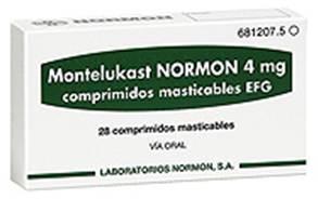 მონტელუკასტი ნორმონი / Montelukast Normon