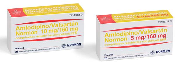 ამლოდიპინი/ვალსარტანი-ნორმონი / Amlodipine/Valsartan-Normon