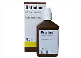 ბეტადინი თხევადი საპონი / BETADINE®