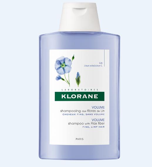 კლორანი - სელის ბოჭკოებზე დამზადებული შამპუნი / Klorane - Shampoo with  flax  fiber