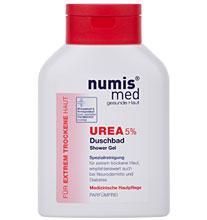 ნუმის მედ ურეა 5% შხაპის გელი სახის და ტანისთვის / numis® med UREA Shower Gel with 5% UREA