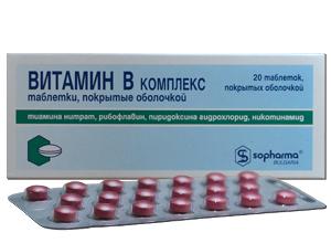 ვიტამინ B კომპლექსი / VITAMIN B COMPLEX
