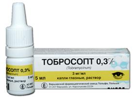 ტობროსოპტი 0,3% / TOBROSOPT