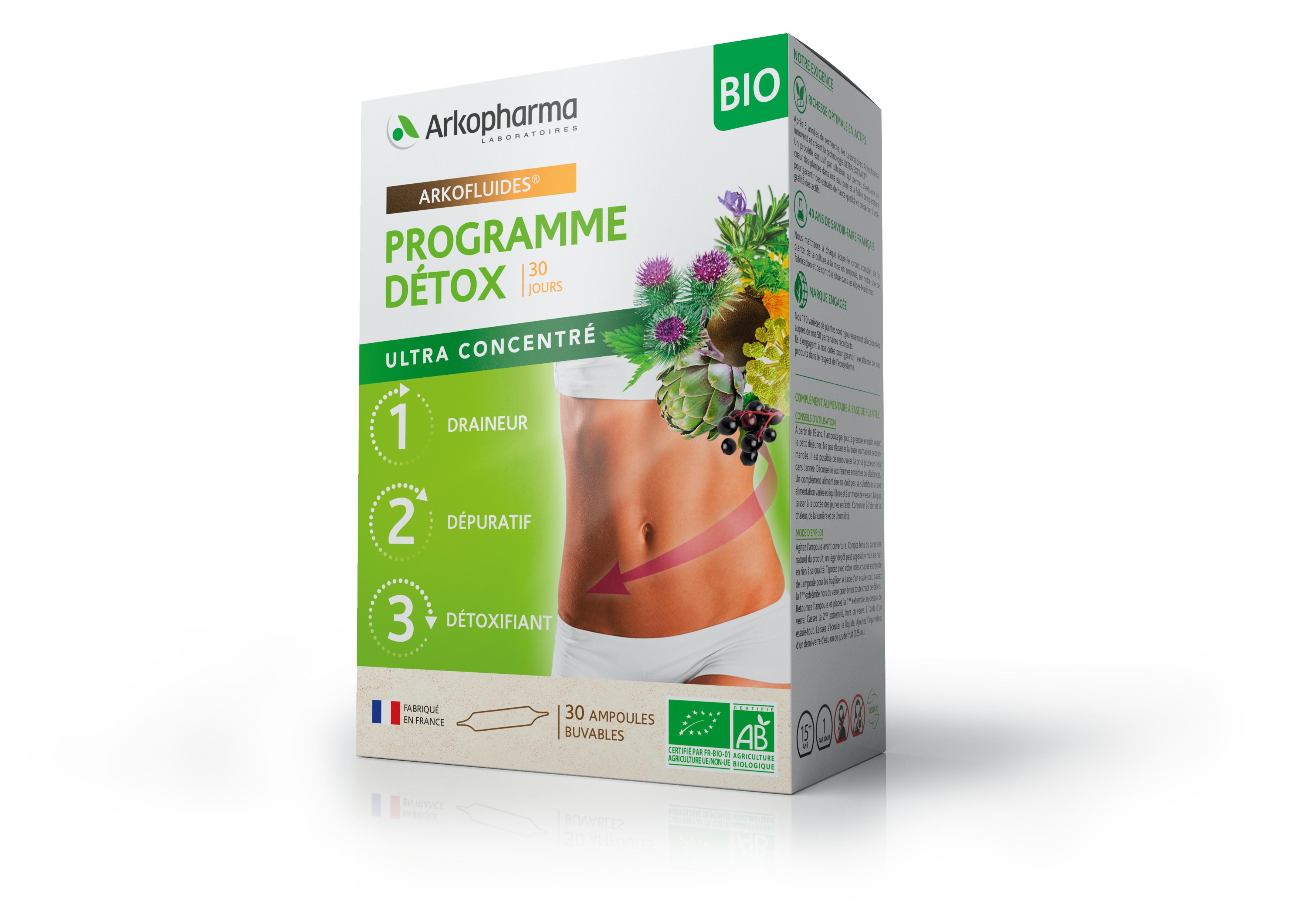 არკოფლუიდი დეტოქს პროგრამა / Arkofluides Detox Programme