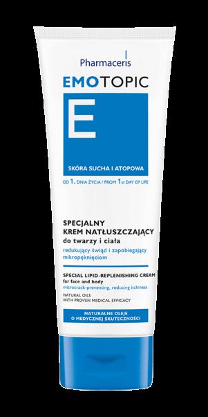 სახისა და ტანის სპეციალიზირებული ლიპიდური კრემი - ემოტოპიკი / Special lipid-replenishing cream - Emotopic