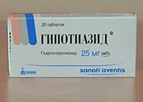 ჰიპოთიაზიდი / HYPOTHIAZID