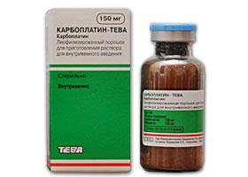კარბოპლატინ-ტევა / CARBOLPATIN-TEVA