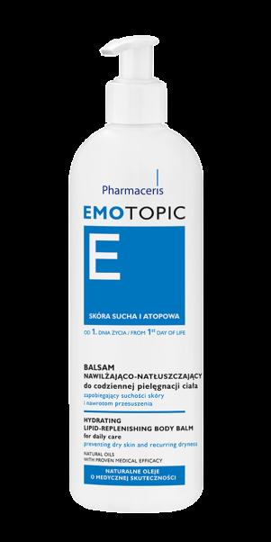 სხეულის დამარბილებელი ლიპიდური ბალზამი - ემოტოპიკი / Hydrating and lipid replenishing body balm - Emotopic