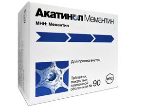 აკატინოლ მემანტინი / Akatinol Memantine