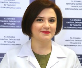 Surgeon Sevinj Aghayarova