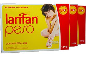 ლარიფან პესო / LARIFAN PESO 1.5 mg