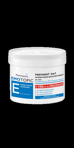 ინტენსიური მკვებავი ფორმულა 3 1- ში - ემოტოპიკი / Lipid replenishing formula 3-in-1 - Emotopic