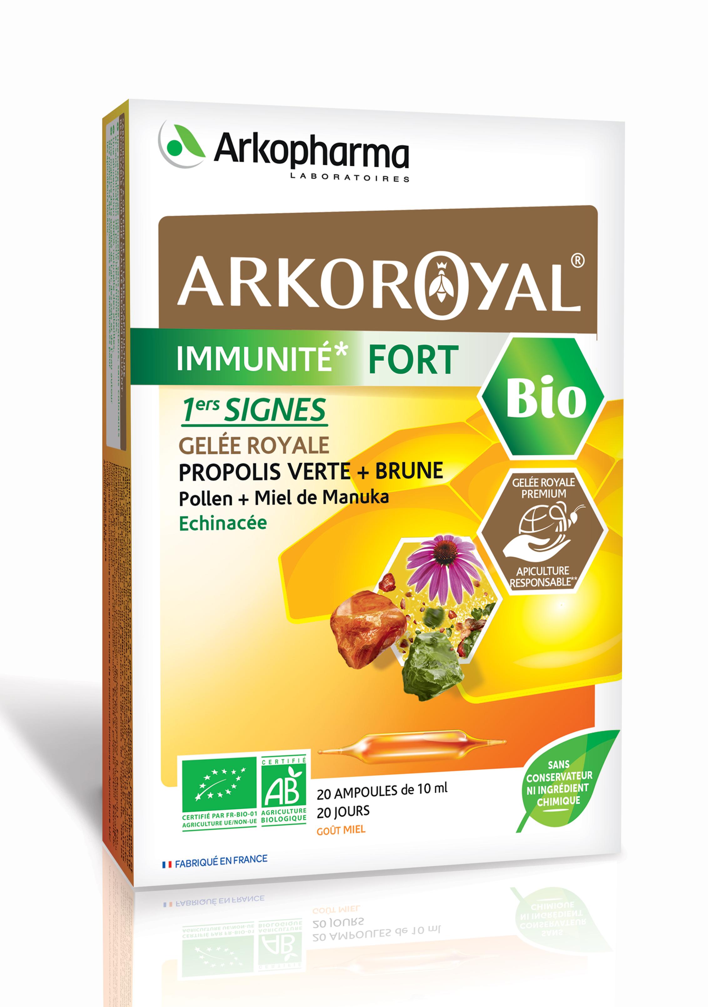 არკოროიალი ძლიერი იმუნიტეტისთვის / Arkoroyal Immunite Fort Bio