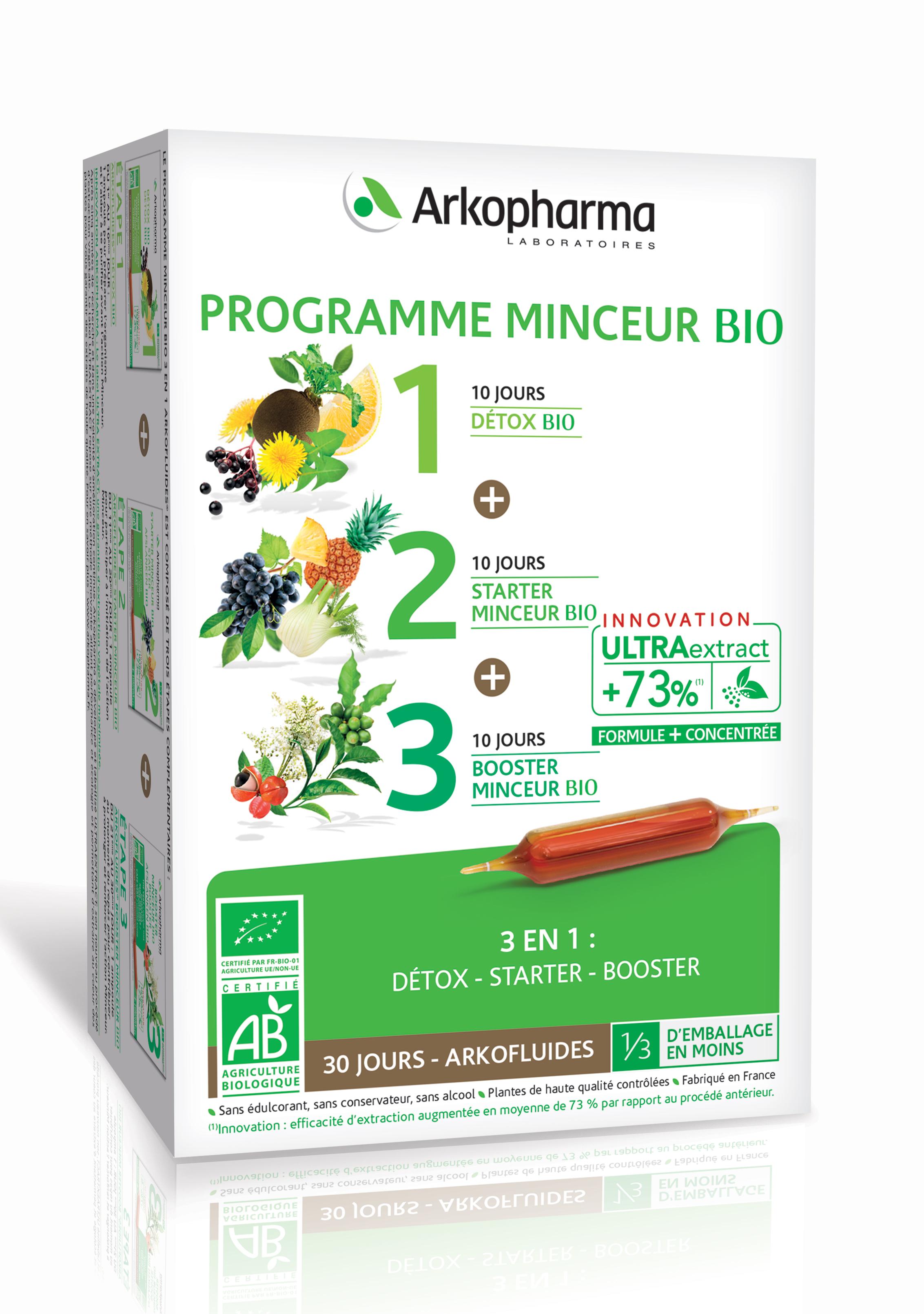 არკოფლუიდი გასახდომი პროგრამა / Arkofluides Slimming Programme