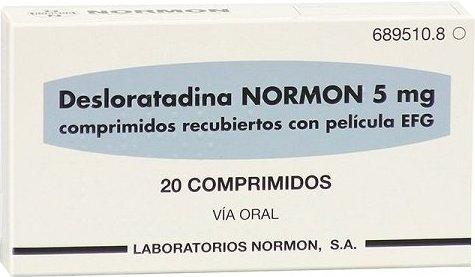 დესლორატადინი ნორმონი / DEZLORATADIN-Normon