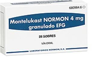 მონტელუკასტი ნორმონი გრანულები / Montelukast Normon