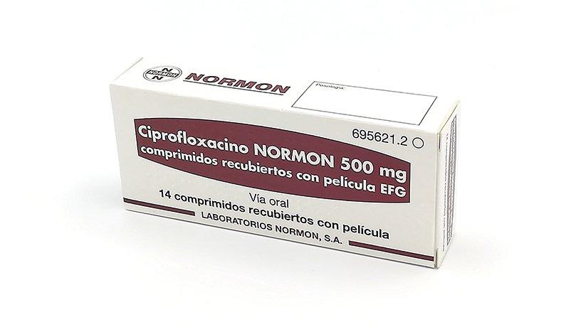 ციპროფლოქსაცინი ნორმონი / Ciprofloxacin Normon