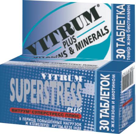 ვიტრუმი სუპერსტრესი პლუსი / VITRUM SUPERSTRESS Plus