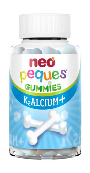 ნეო პეკეს კალციუმ + გამი / neo peques K2ALCIUM+  GUMMIES