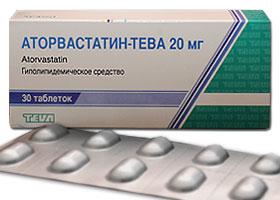 ატორვასტატინ-ტევა / ATORVASTATIN-TEVA