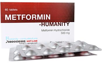 მეტფორმინი - ჰუმანითი / Metformin - Humanity