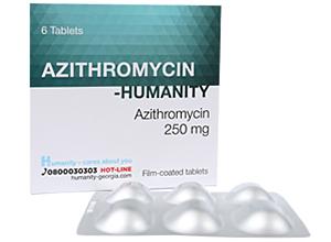 აზითრომიცინი - ჰუმანითი / Azithromycin - Humanity