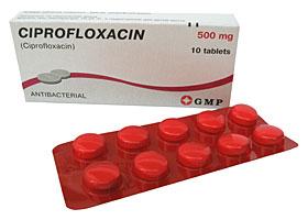 ციპროფლოქსაცინი / CIPROFLOXACIN