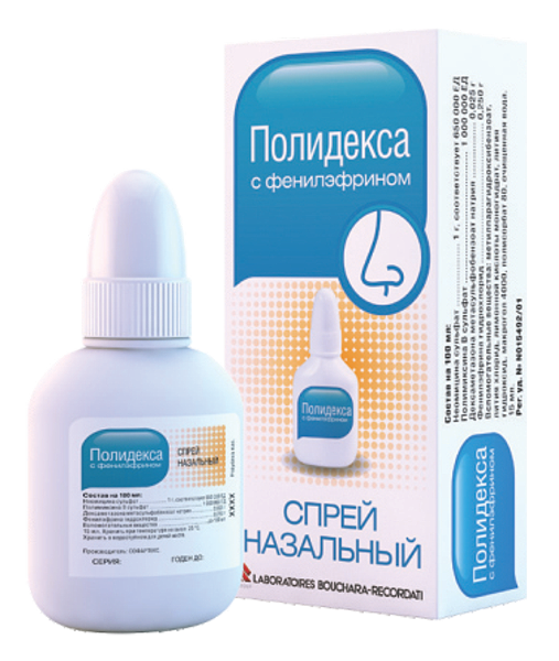 პოლიდექსა ფენილეფრინით / POLYDEXA with phenylephrine
