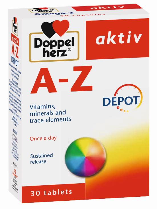 დოპელჰერც აქტივი A-დან Z-მდე / Doppelherz Activ from A To Zinc
