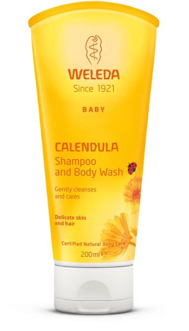 კალენდულას ლოსიონი & შამპუნი - ველედა / Calendula-Waschlotion & Shampoo