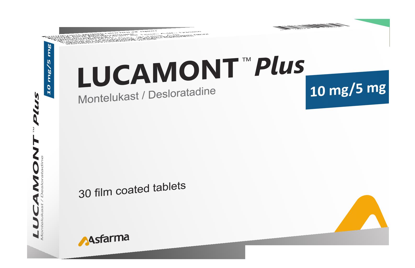 ლუკამონტ™ პლუსი / Lucamont™ Plus