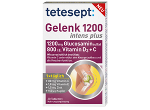 ტეტესეპტი, გელენკი 1200 ინტენს პლუსი / Tetesept