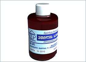 ეთილის სპირტი 95% / Spirtus aethylicus 95%
