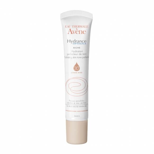 დამატენიანებელი კრემი მზისგან დამცავი ფილტრით და ტონალური ეფექტით - ავენი / Hydrating skin tone perfector RICHE