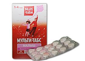 მულტი-ტაბსი® ბავშვებისათვის / Multi-tabs Kid