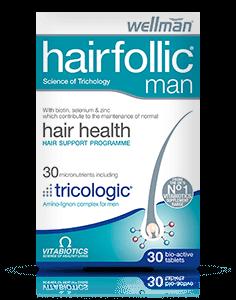 ჰეარფოლიკი ტრიკოლოჯიკი მამაკაცის / Hairfallic Tricologic Man