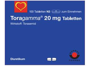 ტორაგამა 20 მგ / Toragamma® 20mg