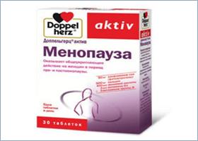 დოპელჰერც აქტივი მენოპაუზა / DoppelHerz Activ Menopausa