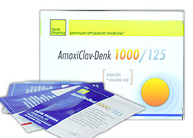 ამოქსიკლავ-დენკი 1000/125 / AMOXICLAV DENK 1000/125
