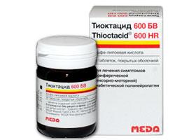 ტიოქტაციდი® 600 T ტიოქტაციდი® 600 HR / THIOCTACID® 600 T THIOCTACID ® 600 HR