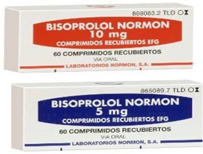 ბისოპროლოლი - ნორმონი / Bisoprolol – Normon