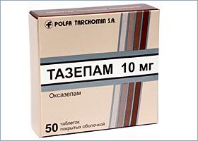 ტაზეპამი / TAZEPAM