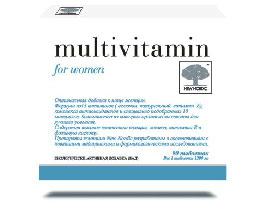 მულტივიტამინი ქალებისათვის / Multivitamin for woman