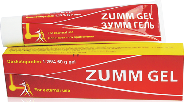 ზუმ გელი / Zumm gel